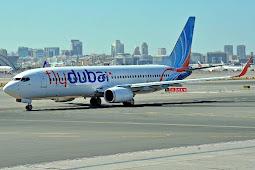 Pesawat Gulf Air Tabrakan Kecil dengan Fly Dubai di Bandara Internasional Dubai
