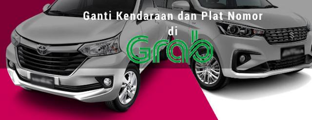 Cara Merubah Data, Ganti Motor atau Mobil dan Plat Nomer Kendaraan Driver Grab, Grabbike dan Grabcar