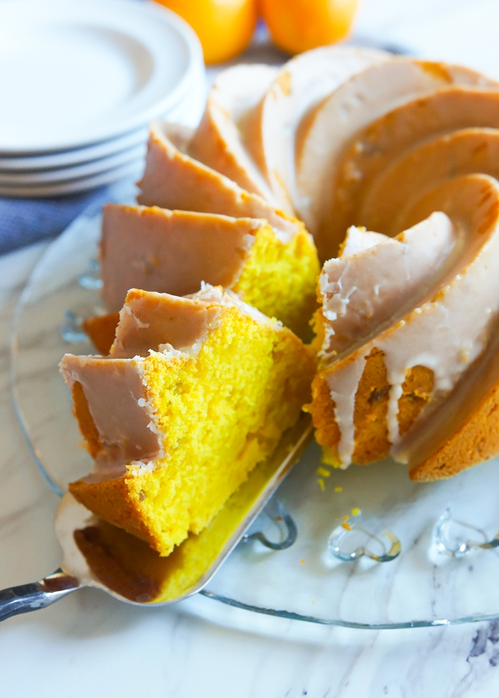 meyer lemon, ginger, and turmeric cake