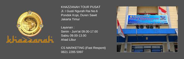 alamat travel umroh khazzanah tour