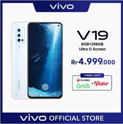 Vivo V19 - 8 / 256 GB ULTRA O SCREEN, Super Night Selfie, Fast Charging