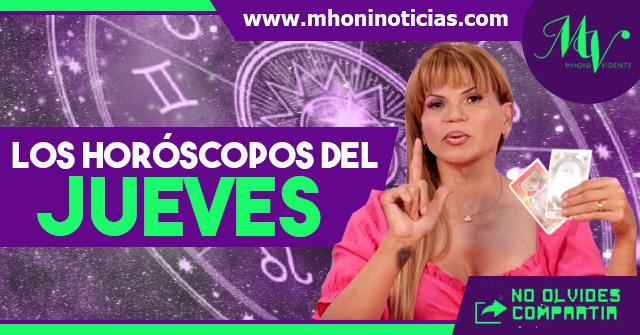 Los horóscopos del JUEVES 06 de MAYO del 2021 - Mhoni Vidente