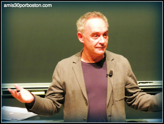 Ferran Adrià en el Science and Cooking de la Universidad de Harvard