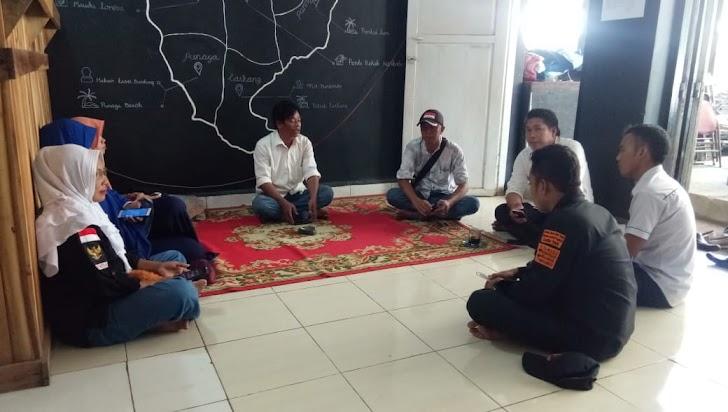 Rapat Koordinasi Panwaslu Kecamatan Marbo Penerimaan PTPS Bersama Pengawas Pemilu Lapangan
