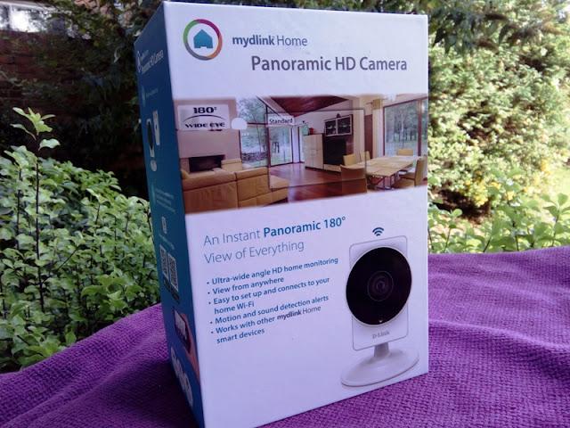 DLINK DCS-8200LH 180 Degree Wireless Home Security Camera! | Gadget