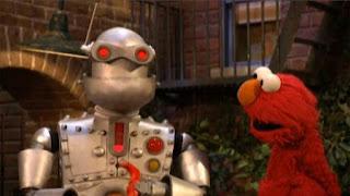 Elmo meets Memorybot. Sesame Street The Best of Elmo 2
