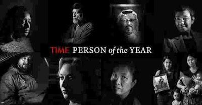 Chamada capa da Time das Personalidades do ano