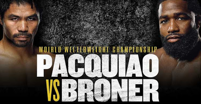 Pacquiao vs. Broner Complete Quick Results