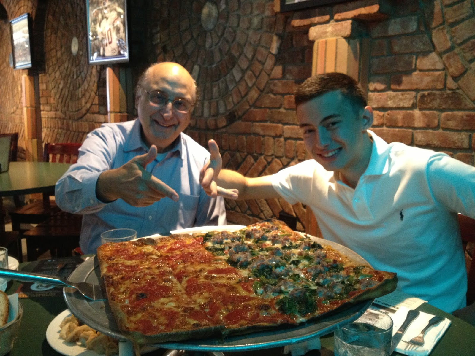 2 Dudes Who Love Food Umberto S Pizza And Restaurant In New