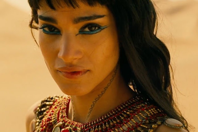 Maquiagem princesa de A múmia 2017