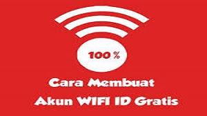 Cara Membuat Akun WiFi ID Gratis