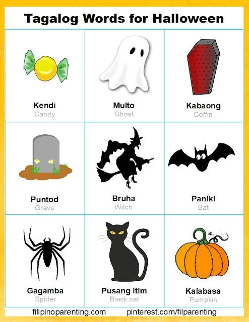 Tagalog Words for Halloween