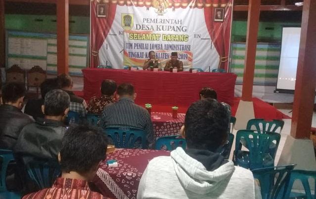 Danramil Karangdowo Sosialisasi Karya Bhakti Mandiri Klaten Bersinar