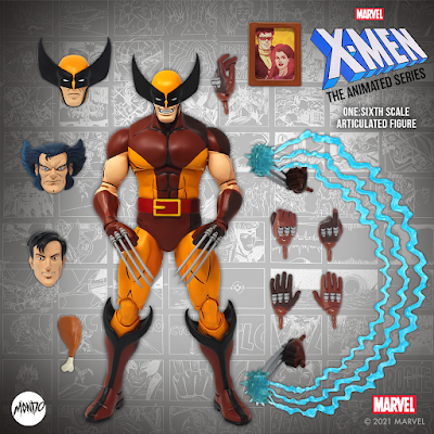 X-Men: The Animated Series Wolverine Pryde of the X-Men Variant 1/6 Scale Figure by Mondo x Marvel