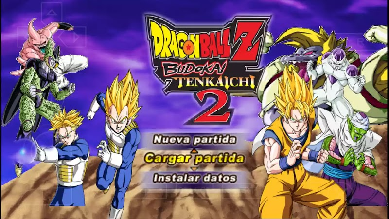 Dragon Ball Z TTT MOD BT2 New PSP ISO With Menu