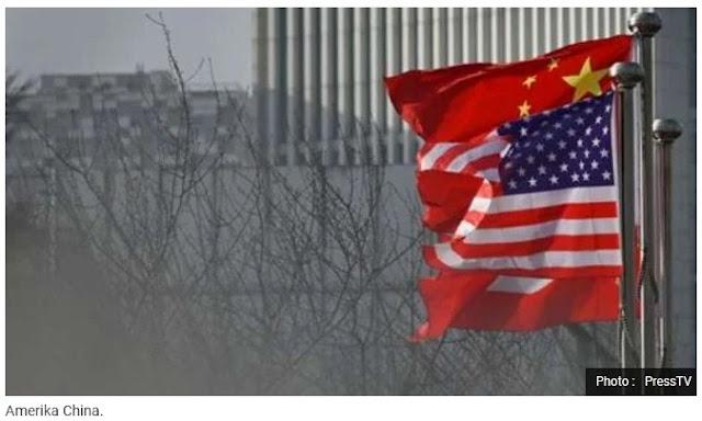 China Ejek Kesombongan Amerika yang Kini Parah Diserang Corona