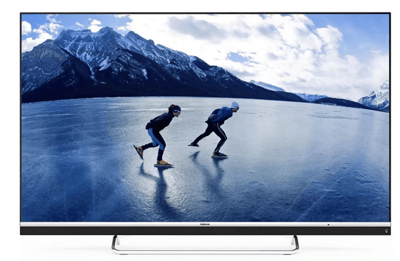 It has HDR 10 support, Dolby Vision, and Android 9.0
