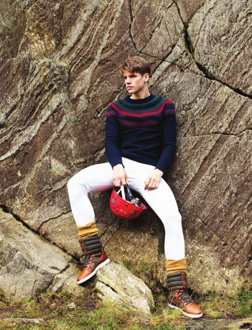 Rock Climbers For Attitude Magazine   gents fashion     Stylists Rock Climbers For Attitude Magazine   gents fashion
