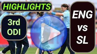 ENG vs SL 3rd ODI 2021