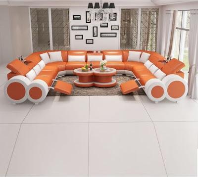 Modern corner sofa set design ideas for living room 2019