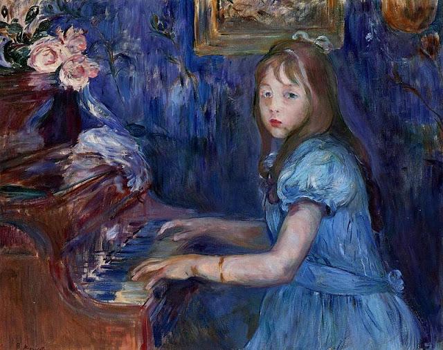 Berthe Morison - Lucie Leon al Piano - 1892