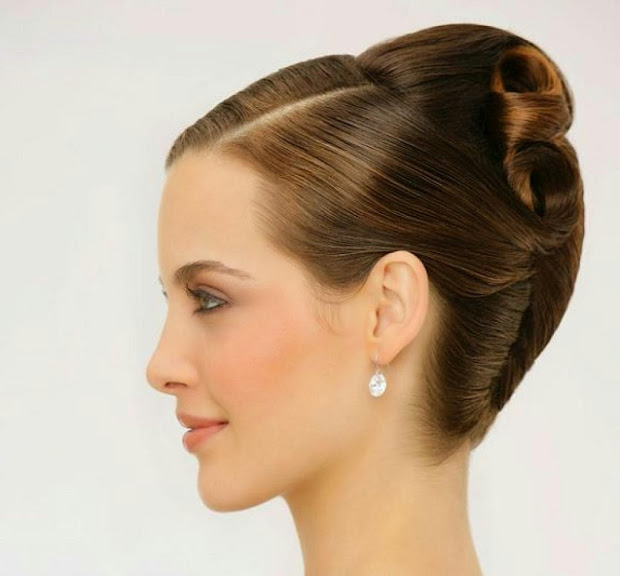 french pleat hairstyle 1950 fade