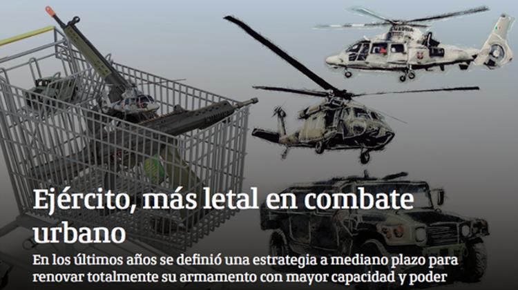 EL EJERCITO, MAS LETAL en el COMBATE URBANO..multiplicaron sus armas,las capacidades y tambien la violencia.