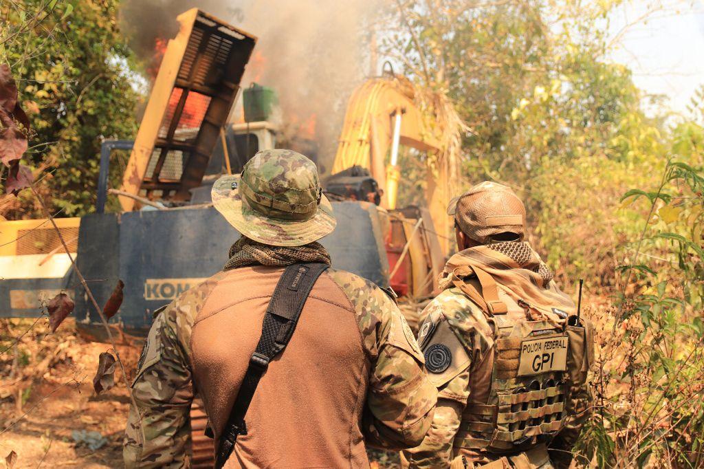 PF deflagra operação para combater garimpos ilegais em terras indígenas do Pará - Portal Pebão