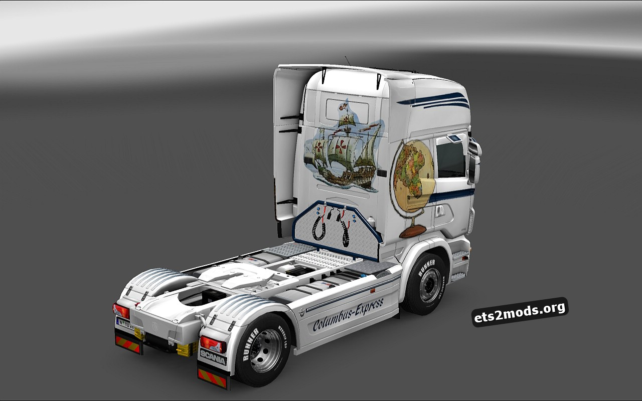 Columbus Express Skin for Scania RJL