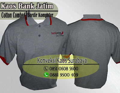 kaos poloshirt cotton combed