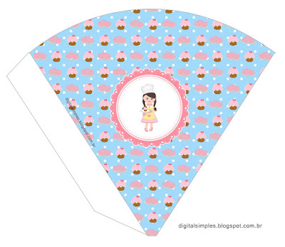 Girls Bakery: Free Party Printables.