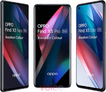 تم تسريب صورة Oppo Find X3 Pro