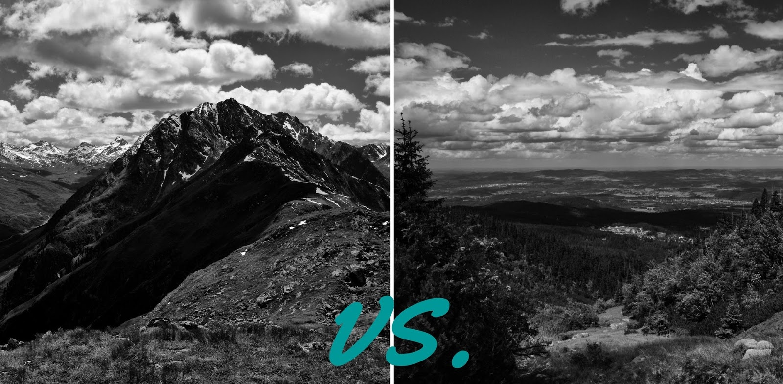 Góry wysokie czy góry średnie - Które lepsze?