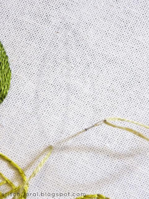 leaf stitch