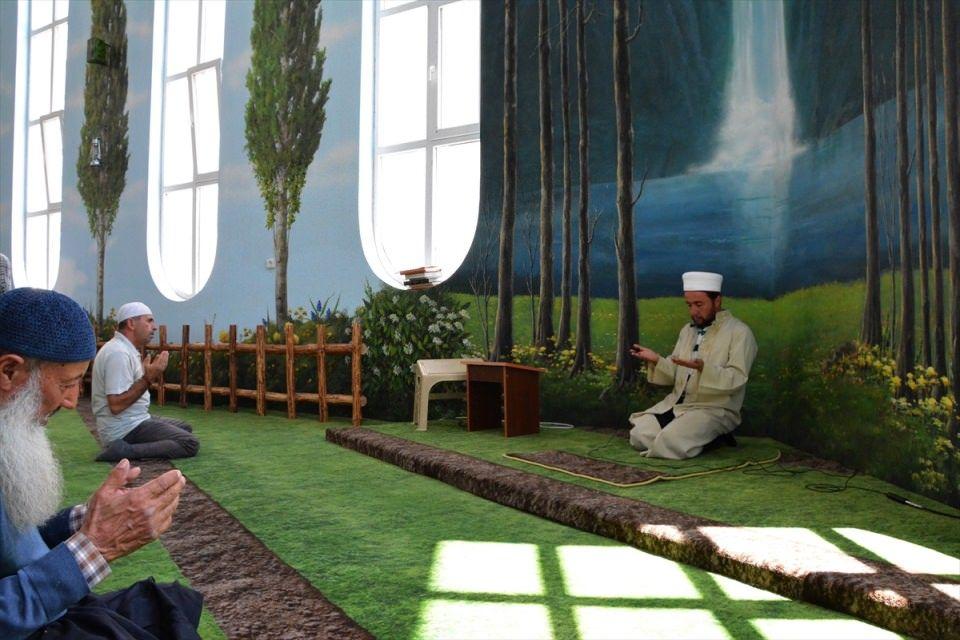 Interior Design Masjid Hamidiye Camii, Turkey