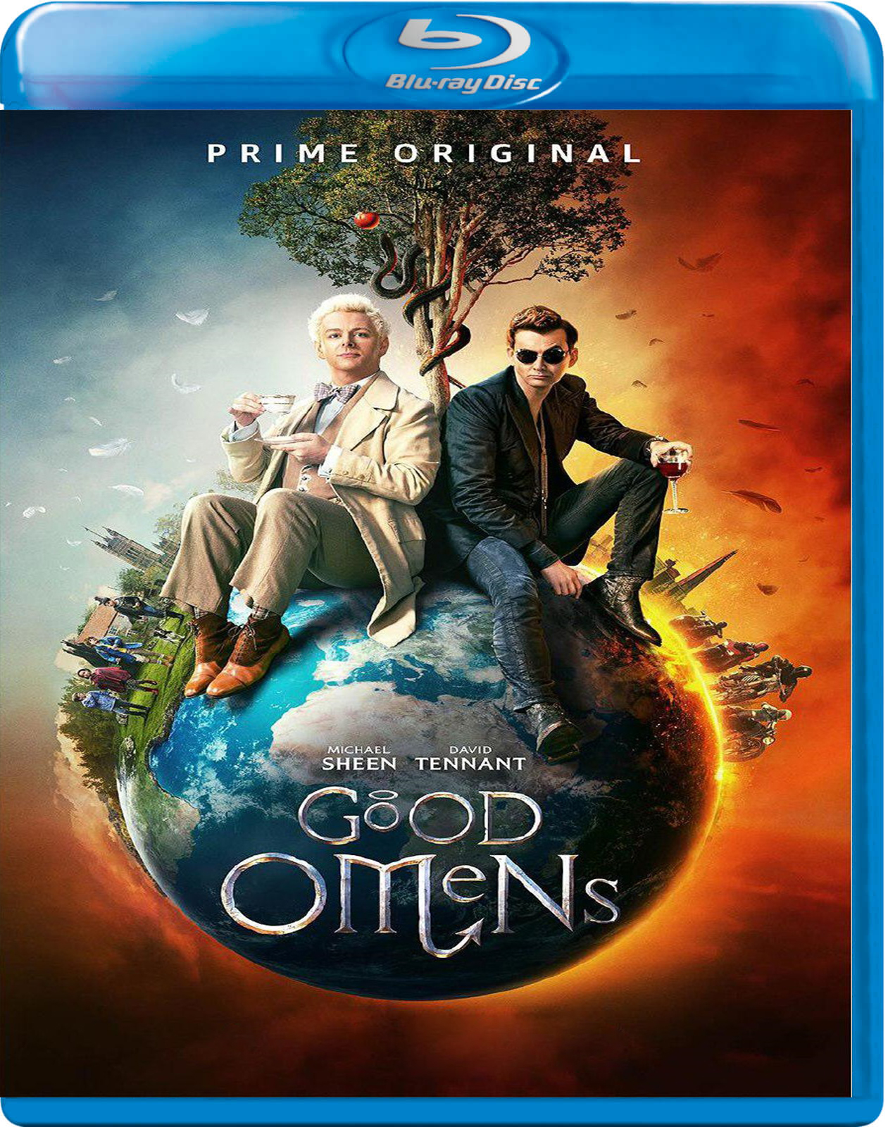 Good Omens [2019] [BD50] [Latino] [2 DISC]