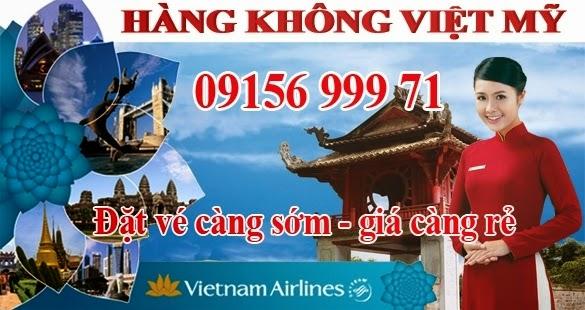 Đại lý vé máy bay giá rẻ Việt Mỹ