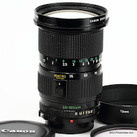 Canon FD 35-105mm f: 3.5 (Macro) Reference