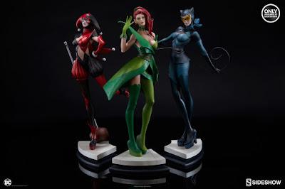 Gotham Sirens riunite - Harley Quinn, Poison Ivy e Catwoman