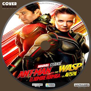 GALLETA Ant-Man and the Wasp -ANT-MAN Y LA AVISPA 2018 [COVER 4K - UHD ]