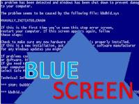 Cara Yang Paling Tepat Mengatasi Blue Screen/Tampilan Layar Biru Pada PC/Laptop