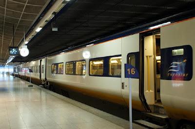 Brussels-Midi eurostar station