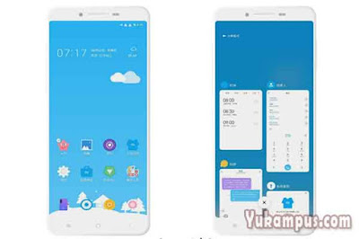 download tema xiaomi blue candy