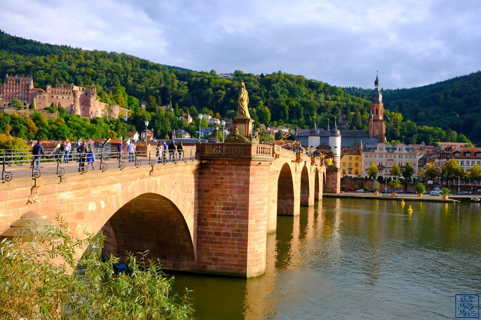 Le Chameau Bleu -Blog Voyage Heildeberg Allemagne -  Le vieux pont d'Heidelberg