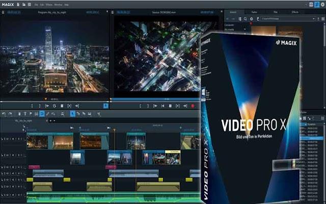 MAGIX Video Pro X11 17.0.1.32 F.u.l.l - Chỉnh sưa video đơn giản