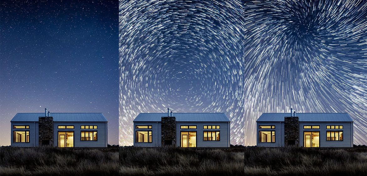 Create Star Trails From Just One Photo in Photoshop