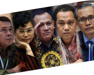Lima Pimpinan KPK Dilantik, Ini Profilnya!