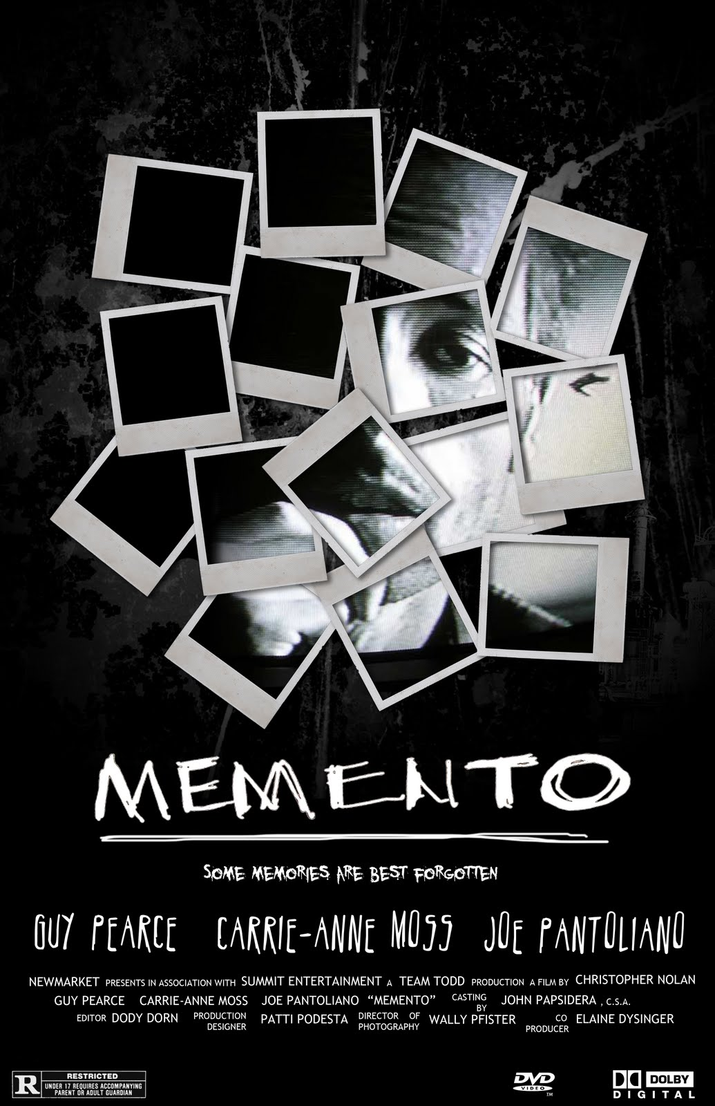 memento film 2000 nolan mind christopher poster movies mindfuck posters guy psychological week imgur narrators pearce thriller bender blow which
