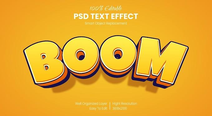 18 Cartoon Photoshop Text Effects - Comic Styles 28704785
