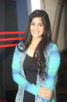 Megha Akash in a beautiful Anarkali dress with Long Jacket at LIE success meet ~  Exclusive Celebrities Galleries 036.JPG